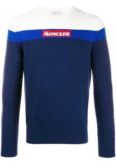 Moncler colour blocked jumper