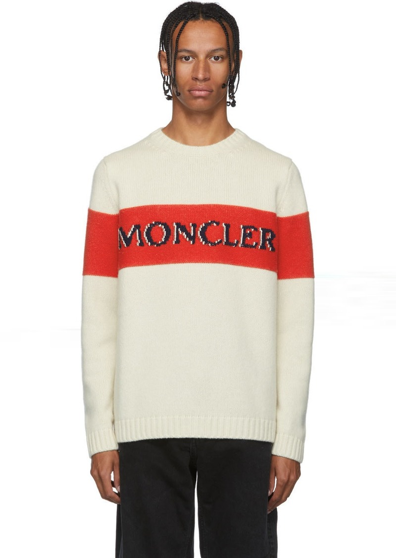2 Moncler 1952 Beige Maglione Tricot Sweater