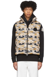 2 Moncler 1952 Multicolor Down Parker Vest