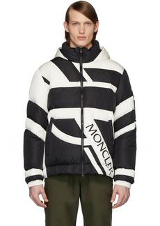 5 Moncler Craig Green Black & White Down Plungery Jacket