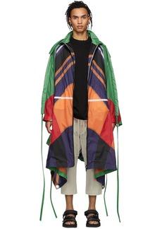 5 Moncler Craig Green Multicolor Nylon Coat