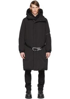 6 Moncler 1017 ALYX 9SM Black Down Parus Coat