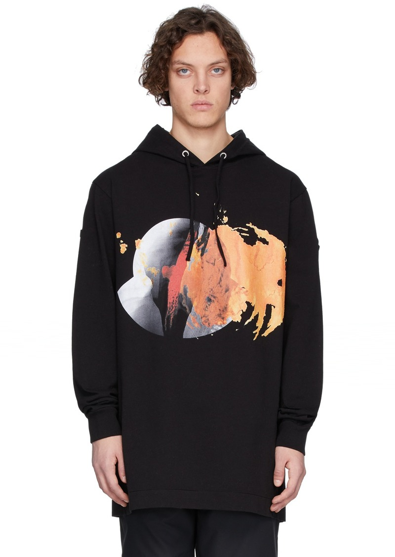 6 Moncler 1017 ALYX 9SM Black Graphic Hoodie