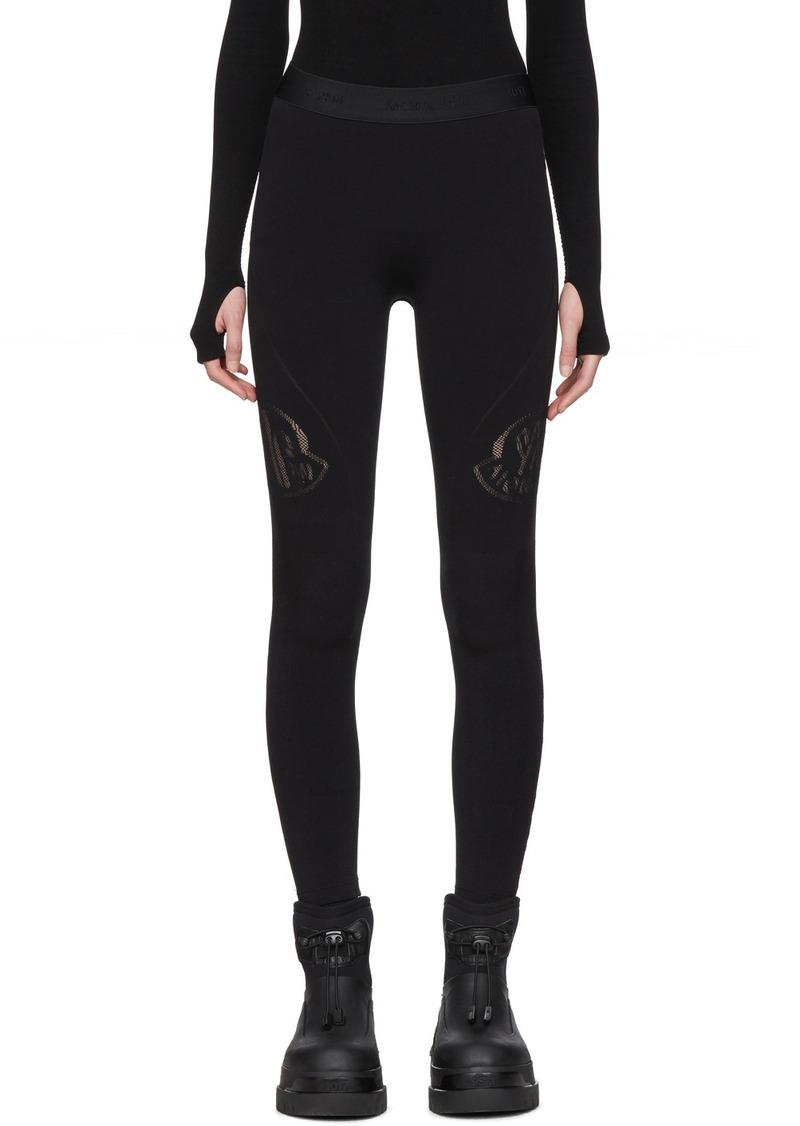6 Moncler 1017 ALYX 9SM Black Logo Leggings
