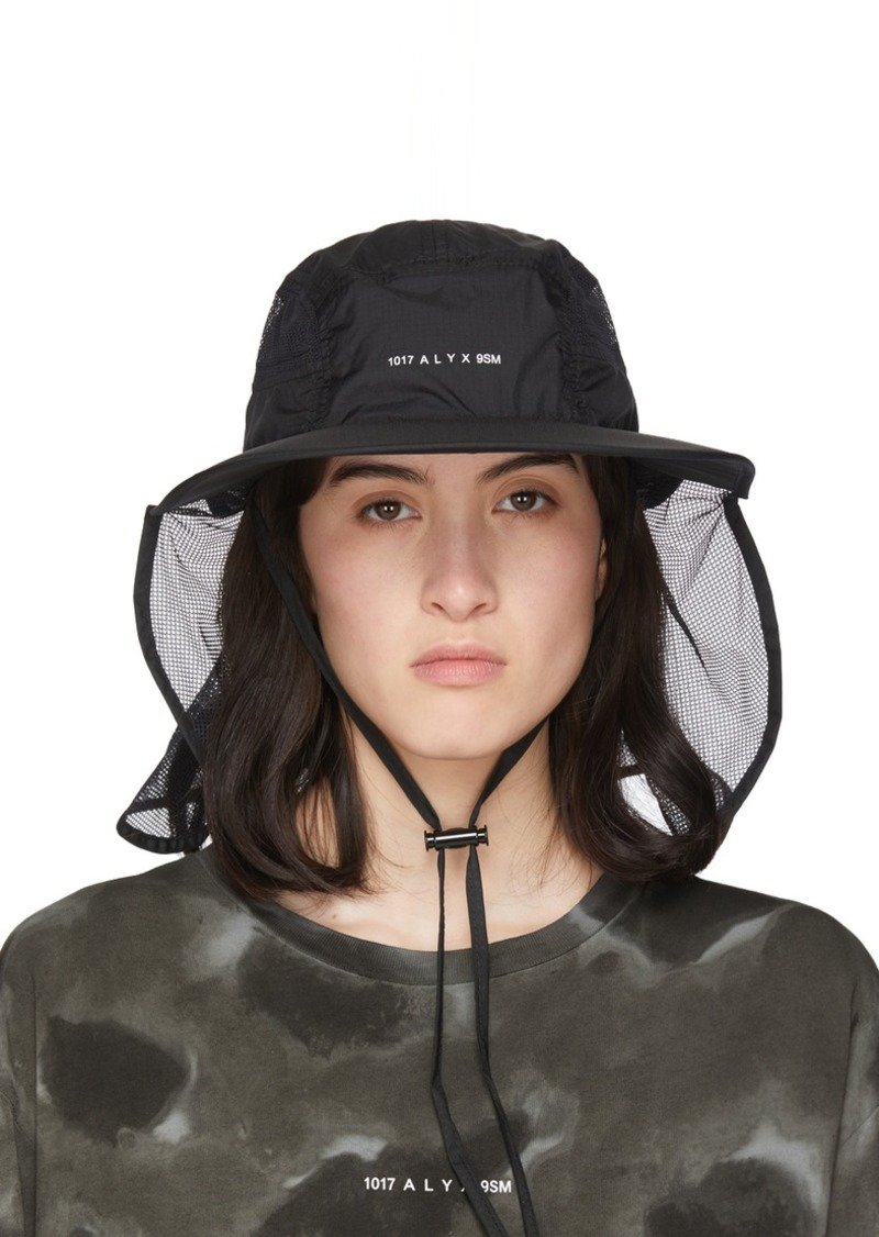 6 Moncler 1017 ALYX 9SM Black Visor Hat
