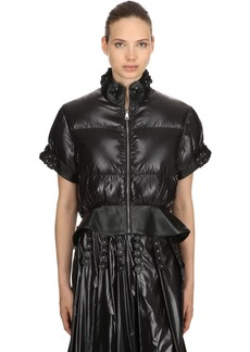 6 Moncler Noir Crop Down Jacket