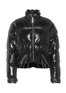 6 MONCLER NOIR KEI NINOMIYA Olivine down jacket