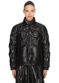 6 Moncler Noir Rubellite Down Jacket