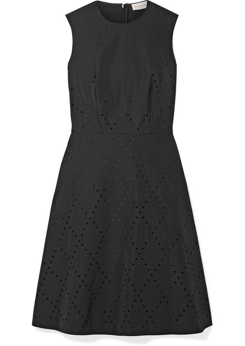 Moncler 6 Noir Kei Ninomiya Perforated Shell Dress