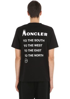 7 Moncler Fragment Cotton Jersey T-shirt