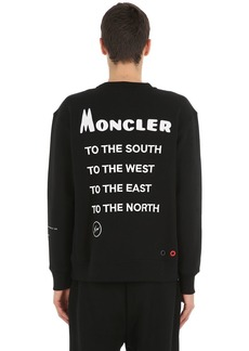 7 Moncler Fragment Cotton Sweatshirt