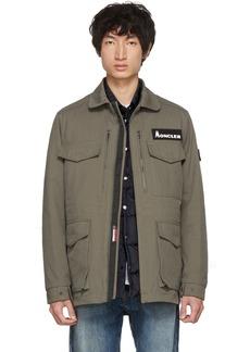 7 Moncler Fragment Hiroshi Fujiwara Khaki Down Jacket