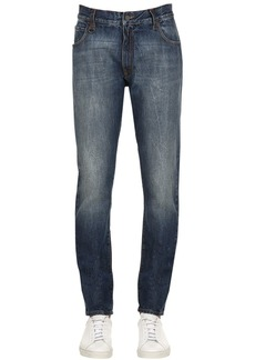 7 Moncler Fragment Washed Denim Jeans