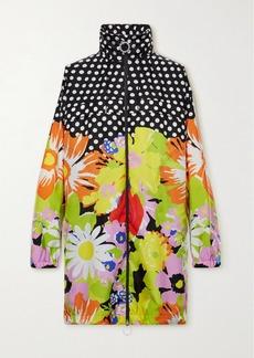 Moncler 8 Richard Quinn Debra Oversized Hooded Printed Shell Jacket