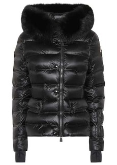 Moncler Armotech fur-trimmed down ski jacket