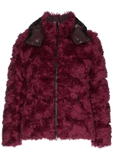 Moncler Bady padded feather down cotton wool blend jacket