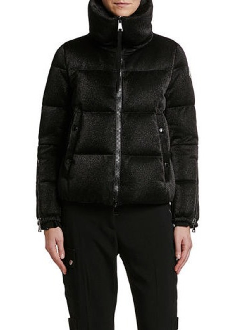 Moncler Bandama Zip-Sleeve Puffer Jacket