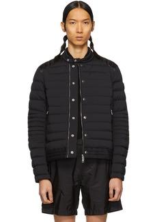 Moncler Black Down Barral Puffer Jacket