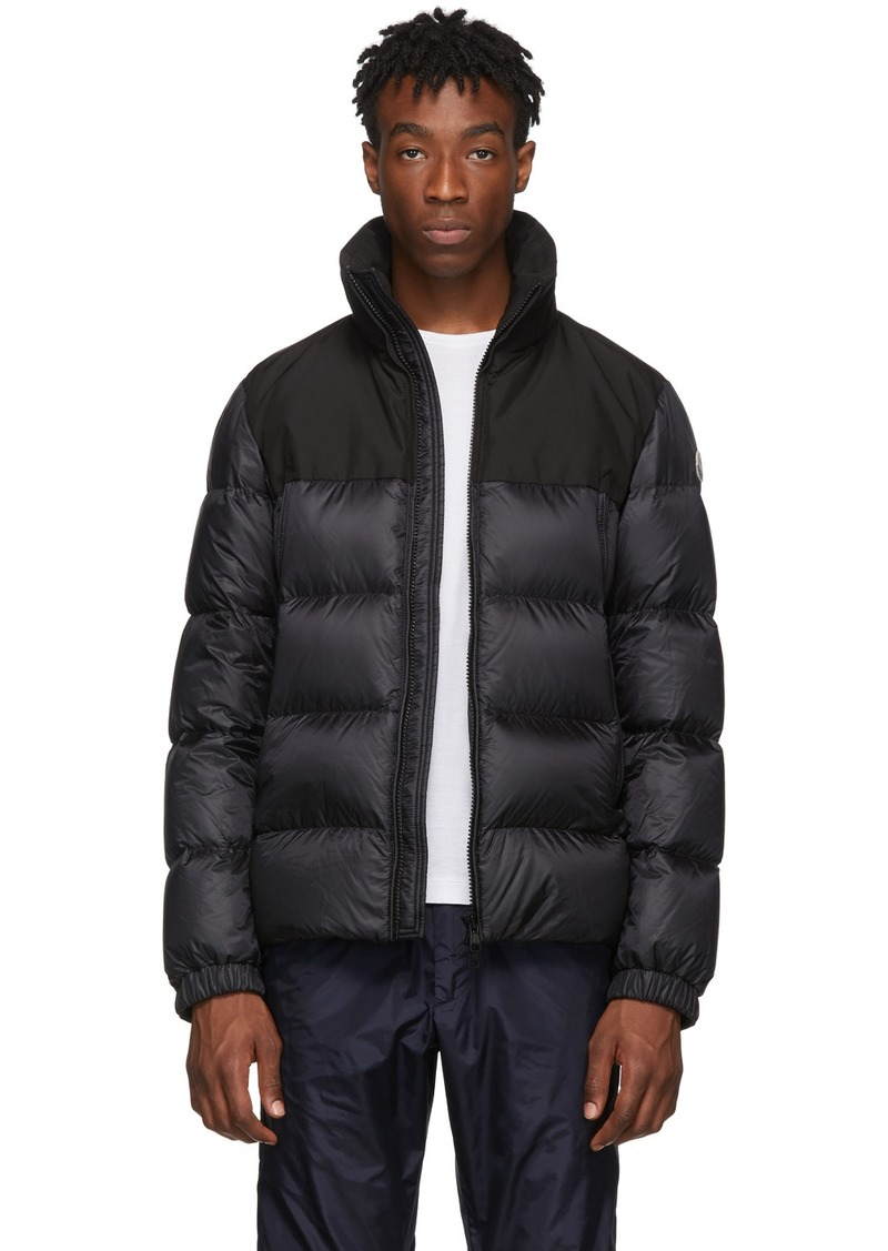 Moncler Black Down Faiveley Jacket