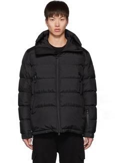 Moncler Black Down Isorno Puffer Jacket