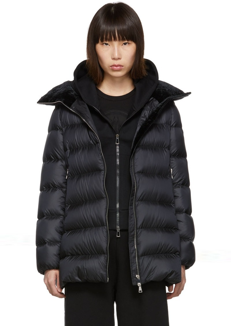 Moncler Black Down Torcon Jacket