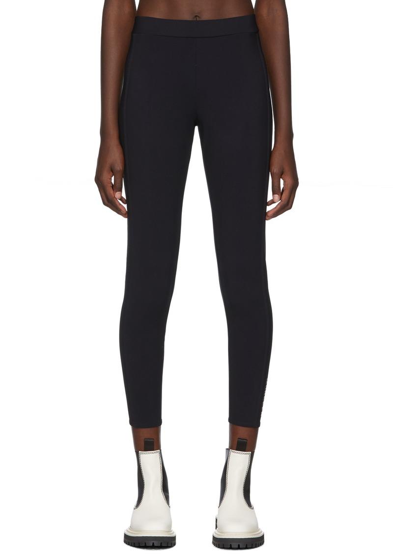 Moncler Black Logo Leggings