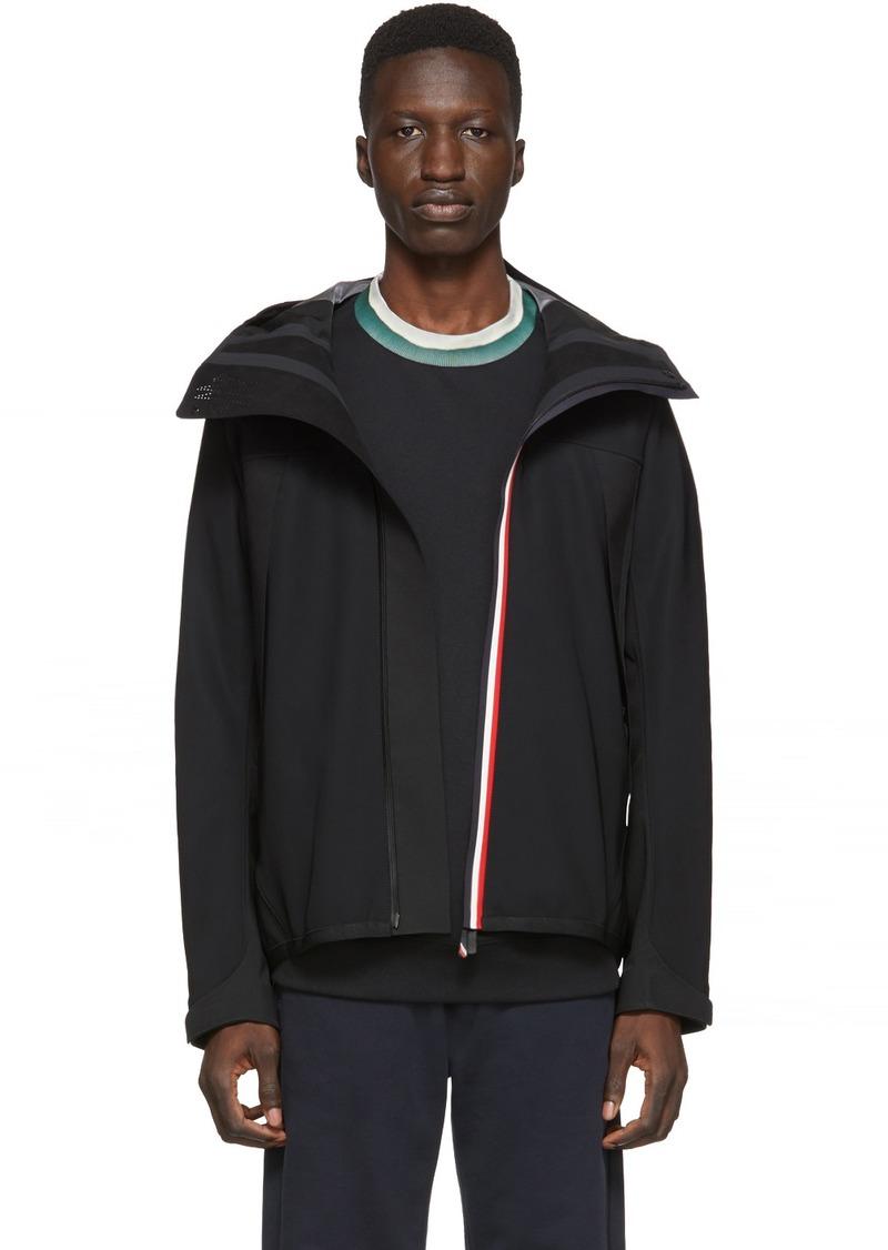 Moncler Black Maglia Zip-Up Jacket