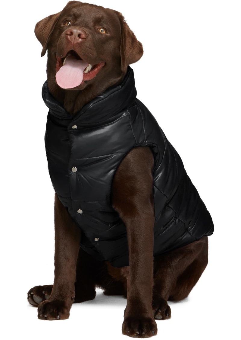 Moncler Black Poldo Dog Couture Edition Insulated Jacket