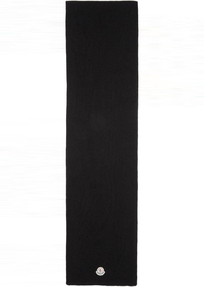 Moncler Black Sciarpa Scarf