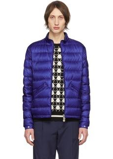Moncler Blue Down Agay Jacket