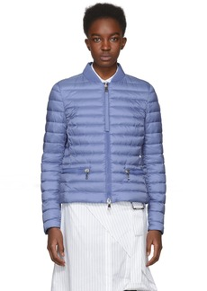 Moncler Blue Down Blen Jacket