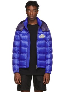Moncler Blue Down Bramat Jacket