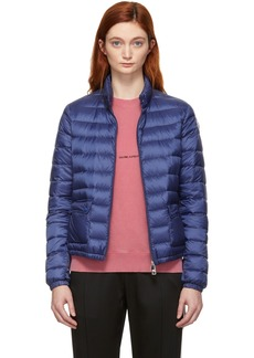 Moncler Blue Down Lans Jacket