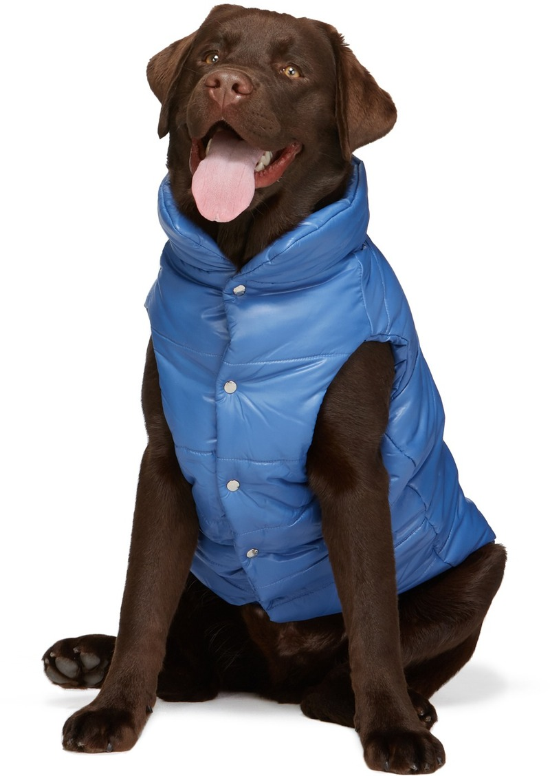 Moncler Blue Poldo Dog Couture Edition Insulated Jacket