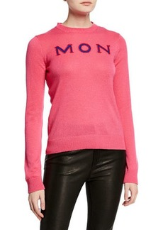 Moncler Cashmere MON/CLER Sweater
