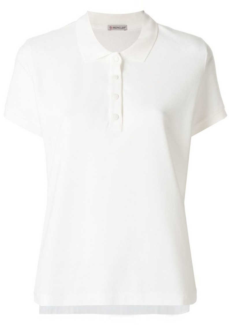 d91ed48c6 Moncler classic polo shirt