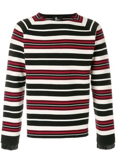 Moncler contrast stripe sweater