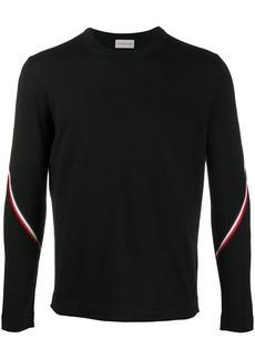 Moncler contrasting stripes jumper