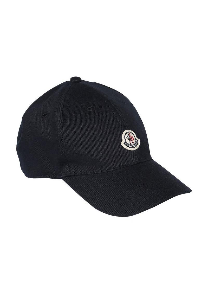 Moncler Cotton Gabardine Baseball Hat
