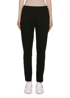 Moncler Cotton Skinny-Leg Track Pants