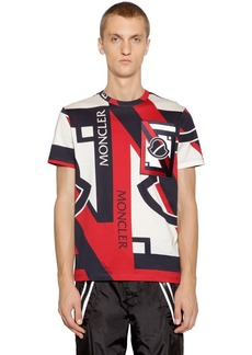 Moncler Craig Green Printed Cotton Blend T-shirt