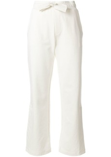 Moncler cropped track pants
