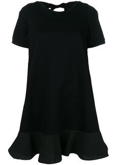 Moncler cut-out back T-shirt dress