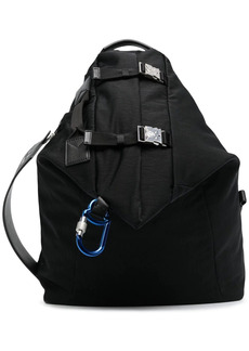 Moncler double buckle fastening backpack