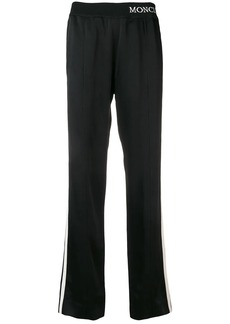 Moncler elasticated logo trousers