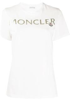 Moncler embossed lettering logo T-shirt