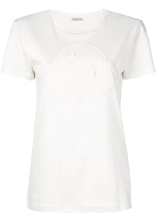Moncler embroidered logo plaque T-shirt
