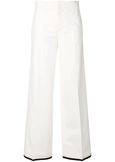 Moncler flared style trousers