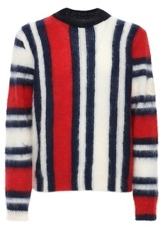 Moncler French Flag Mohair Sweater