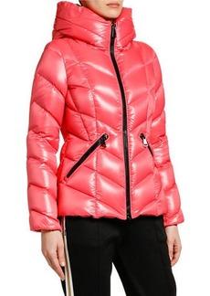 Moncler Fulig Chevron Puffer Jacket